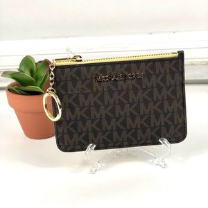 Michael Kors Small Coin Pouch Wallet Card